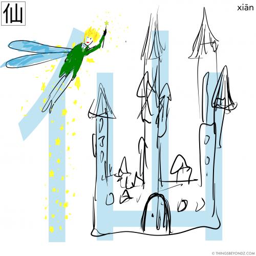 hanzi-xian1-fairy