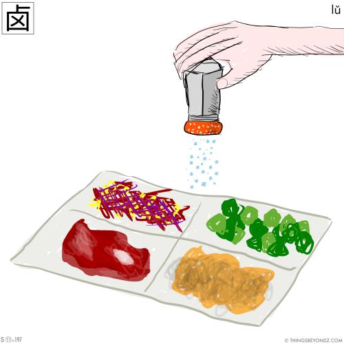 kangxi-radical-11-197-simplified-lu3-salt