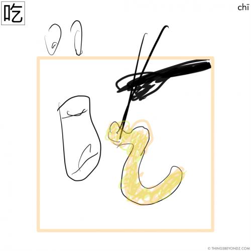 hanzi-chi1-to-eat