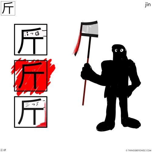 kangxi-radical-4-69-jin1-axe