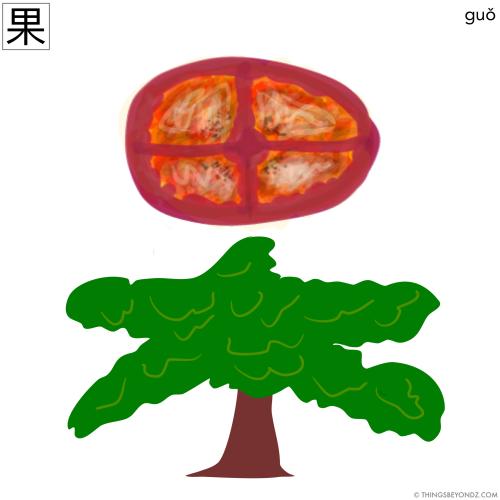 hanzi-guo3-fruit