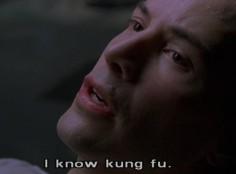 Keaun Reeves: I know Kung Fu