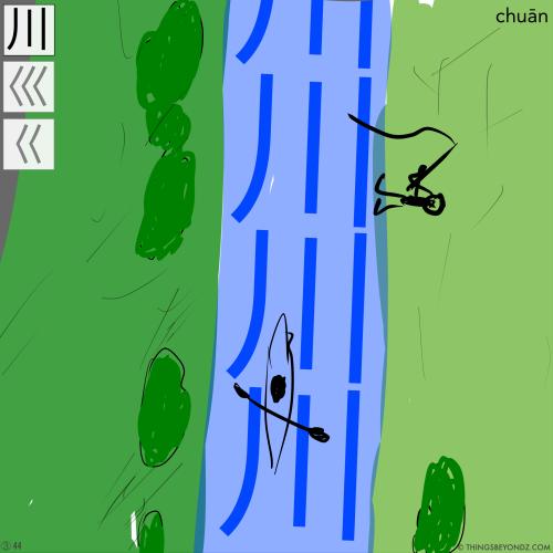 kangxi-radical-3-47-chuan1-river