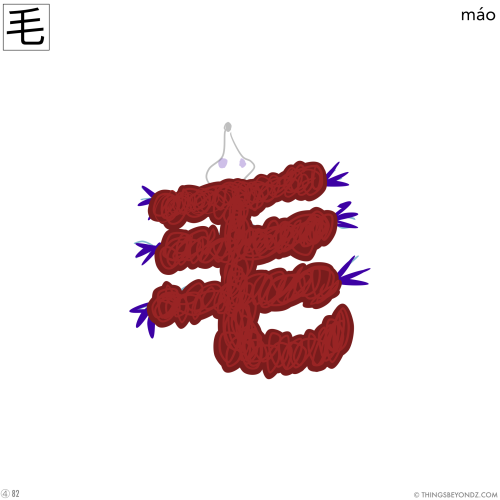 kangxi-radical-4-82-mao2-fur