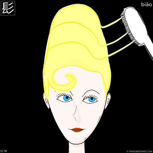 kangxi-radical-10-190-biao1-hair