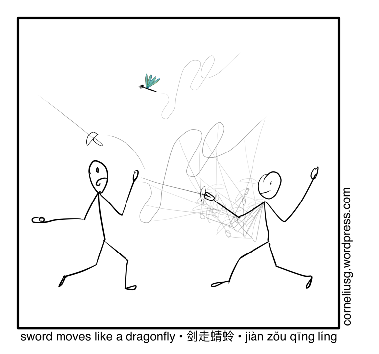 sword Moves Like A Dragonfly