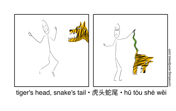 tiger Head Snake Tail