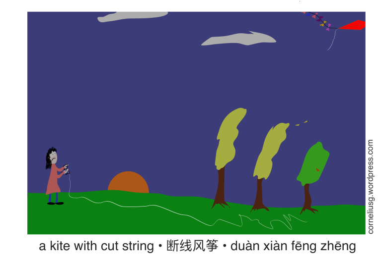 A Kite With Cut String 3