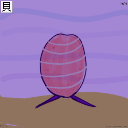 kangxi-radical-7-154-traditional-bei4-shell