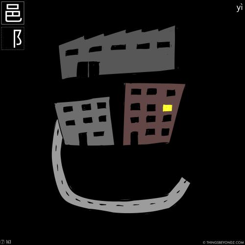 kangxi-radical-7-163-yi4-city